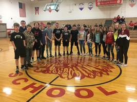 RHMS National Junior Honor Society Raises Money For Huntington Ronald McDonald House